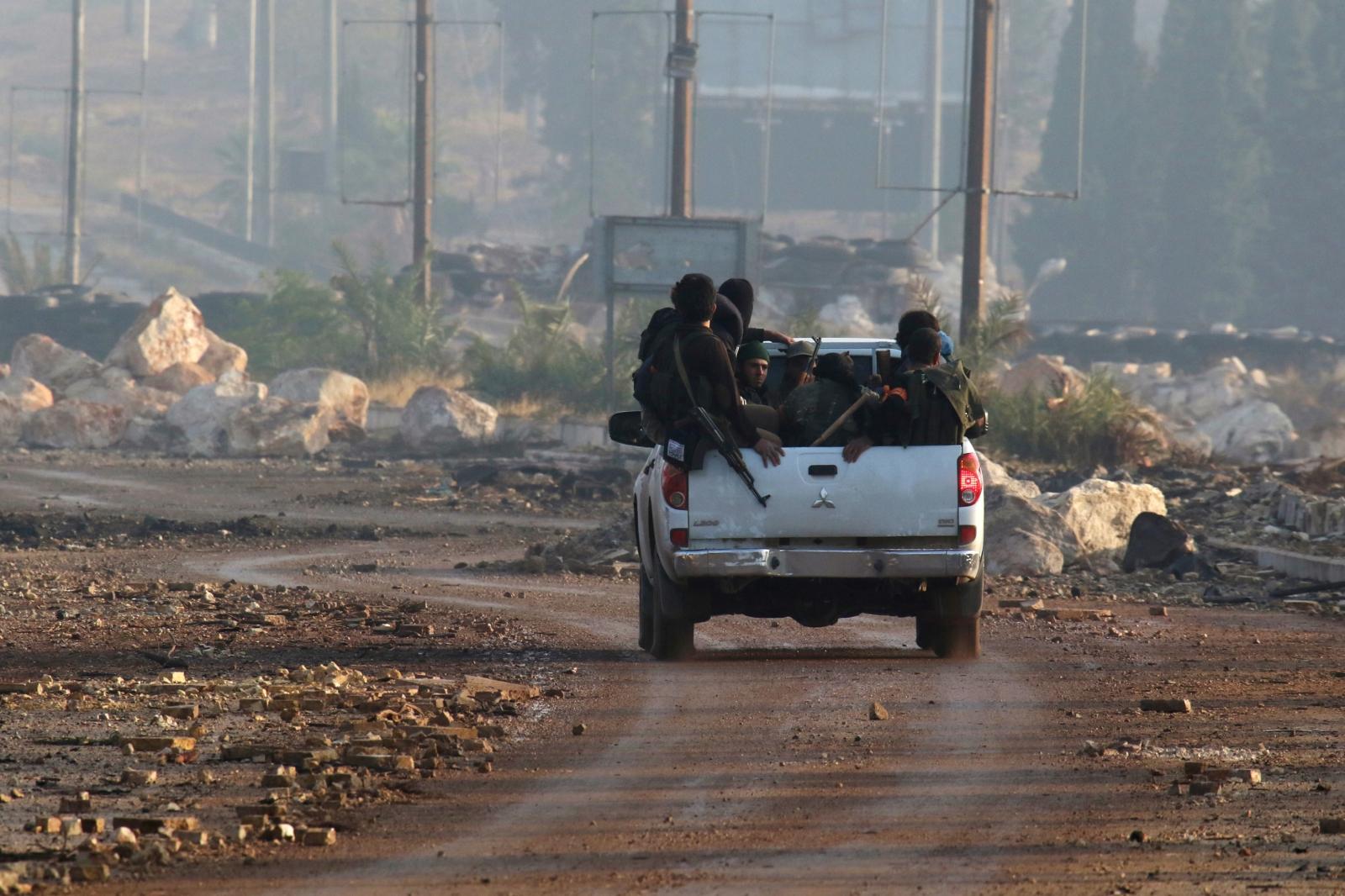 Aleppo rebels