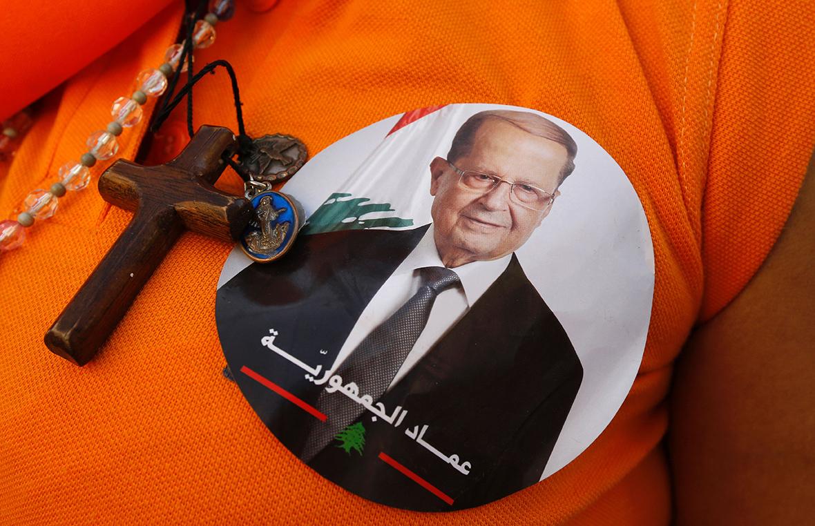Maronite Christian Michel Aoun Elected Lebanese President