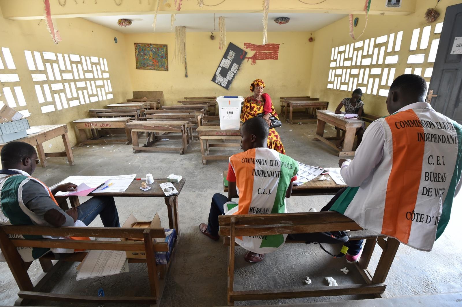 Ivory Coast referendum vote