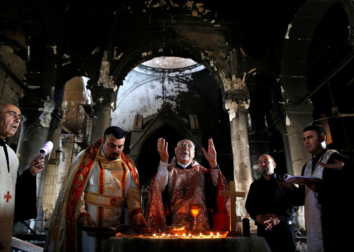 Iraq Christian church Qaraqosh