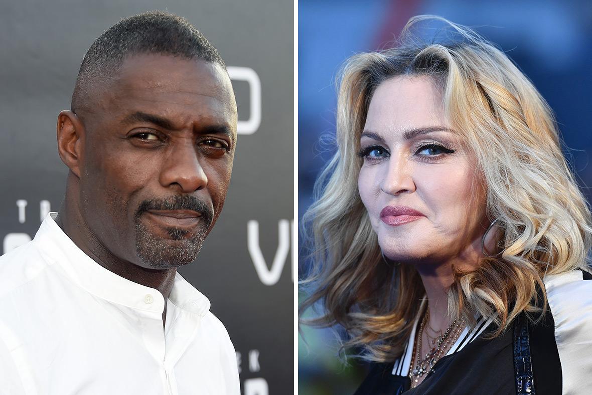 Idris Elba Madonna