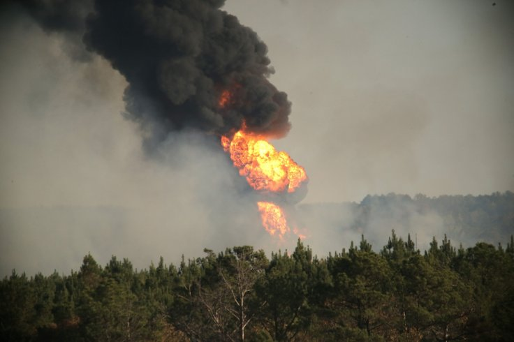 Alabama pipeline explosion