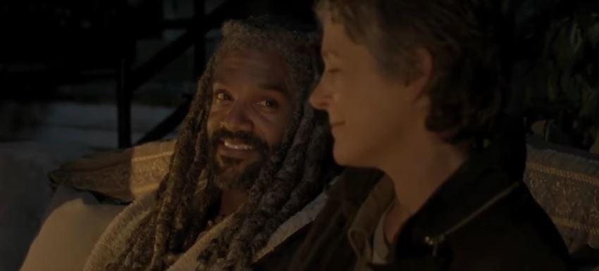 Walking Dead Season 7 Carol And King Ezekiel S Budding
