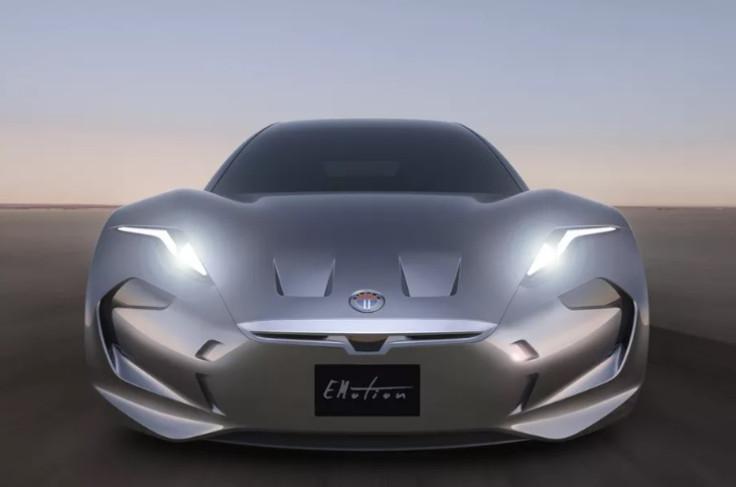 Fisker EMotion electric car