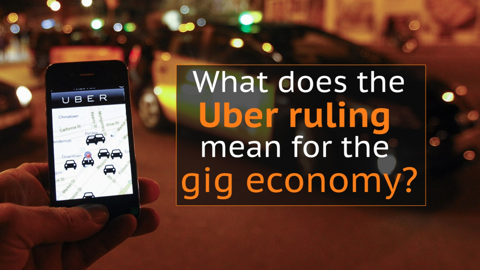 What does the Uber tribunal ruling mean for the gig economy?