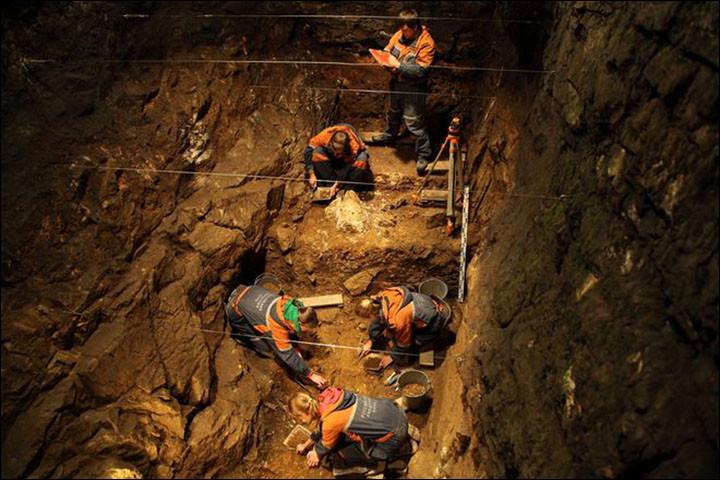 Inside Denisova Cave