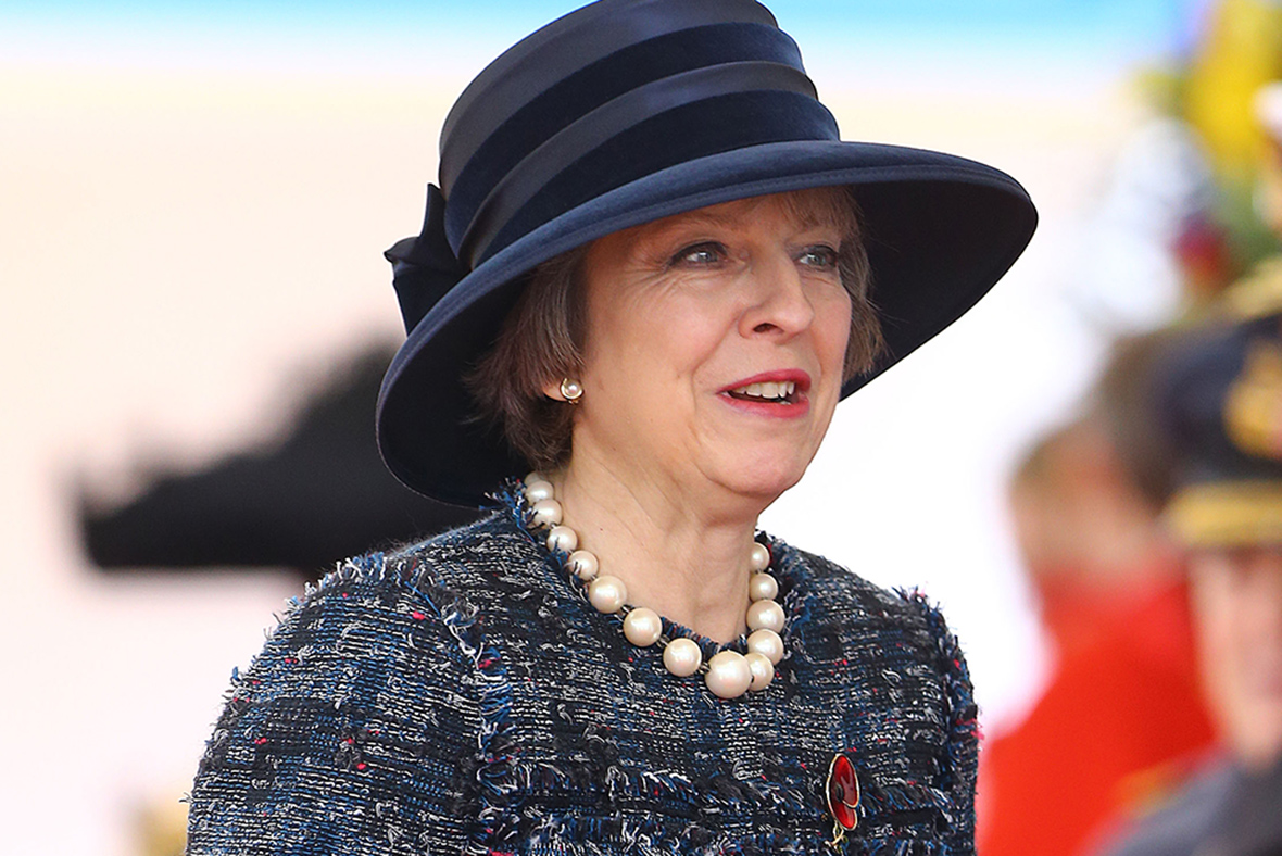 British Prime Minister Theresa May could face visa ...
