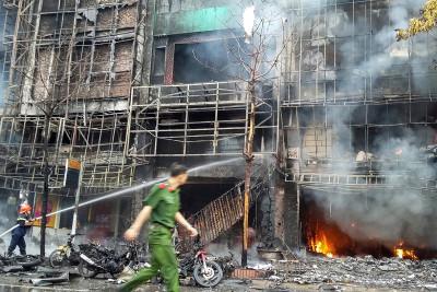 Hanoi fire