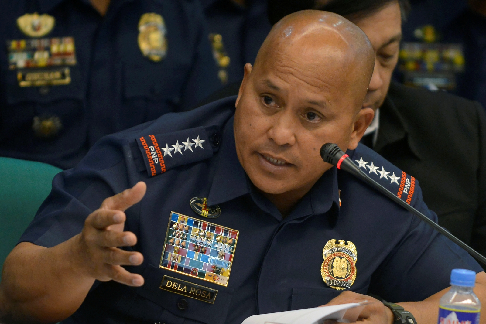 Philippine National Police chief Ronald dela Rosa