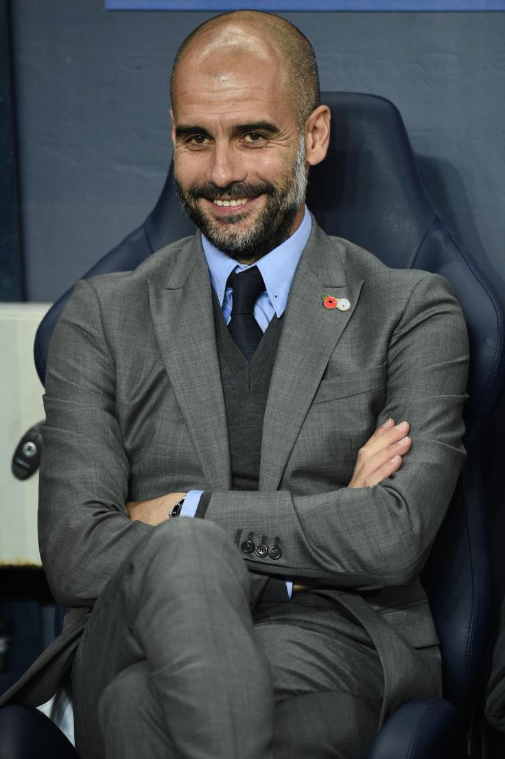 Pep Guardiola 'so happy' for his team