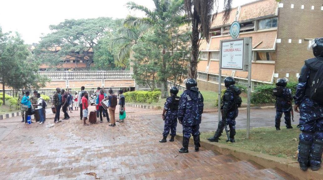 Makerere University shutdown