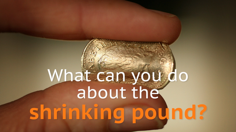 Which companies should you invest in to benefit from the shrinking pound?