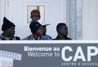 Refugees from Calais