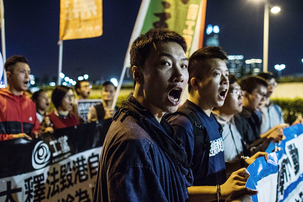 Hong Kong democracy protest: Thousands take to the streets in defiance of Beijing