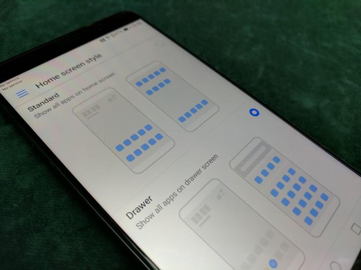 Huawe Mate 9 app drawer