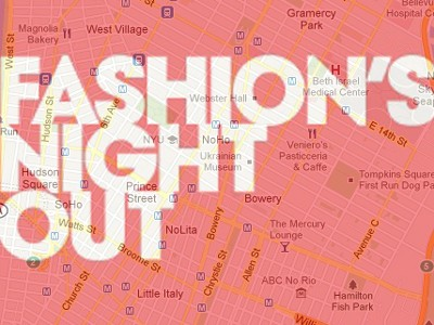 Vogue Fashion's Night Out t