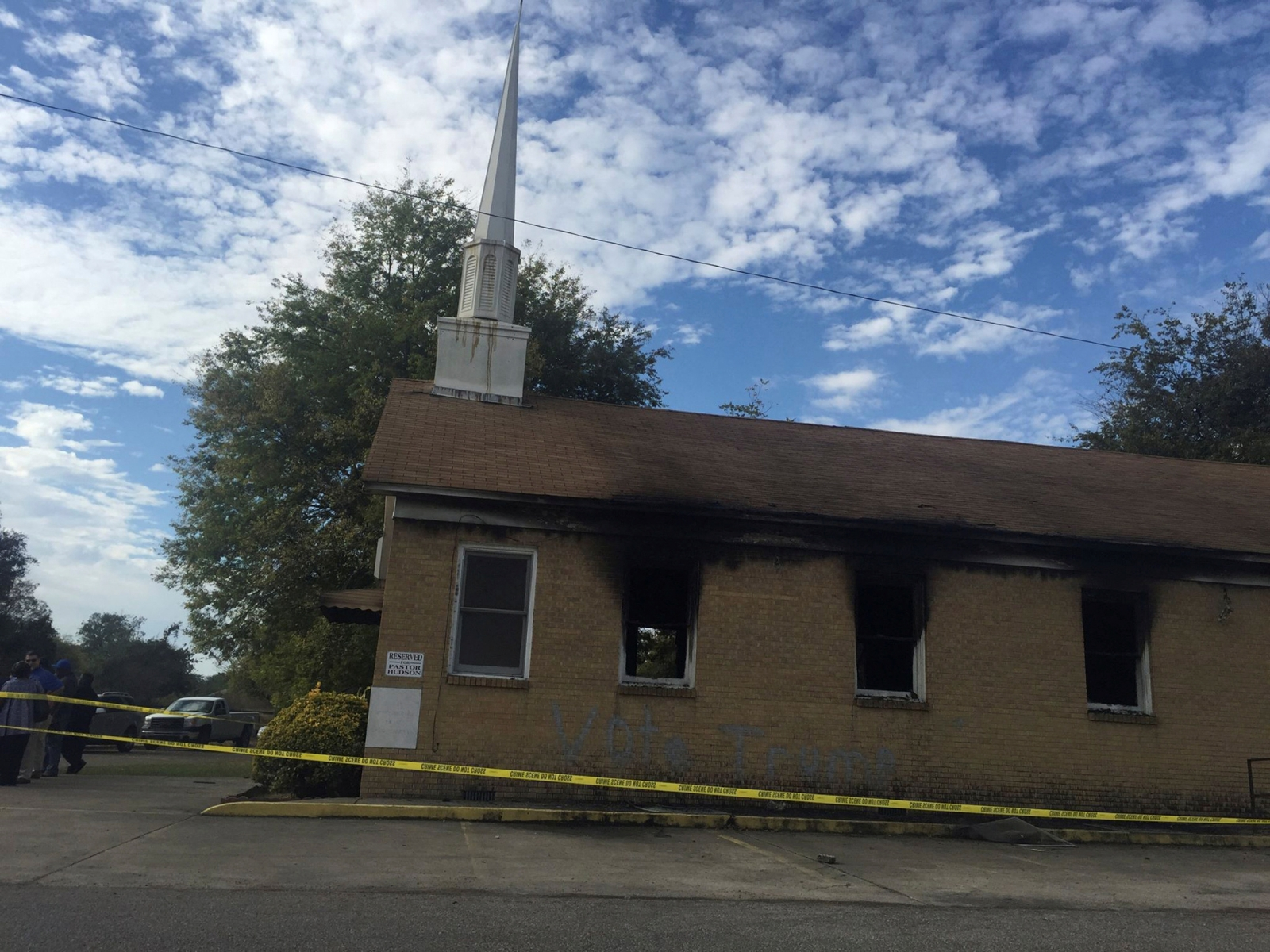 Mississippi Black Church fire