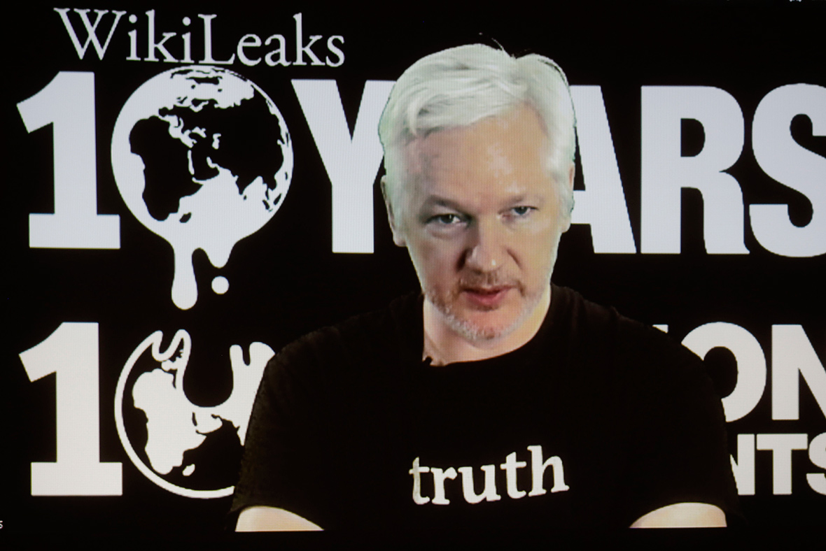 Julian Assange says he feels 'quite sorry' for Hillary Clinton, rules out Russia as WikiLeaks source