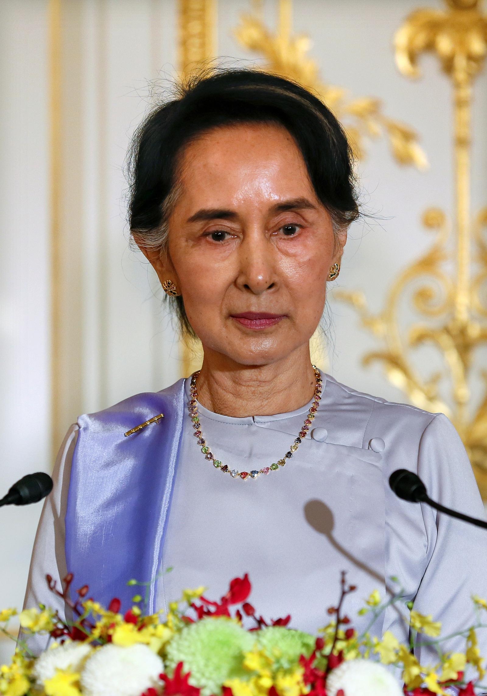 Aung Suu Kyi