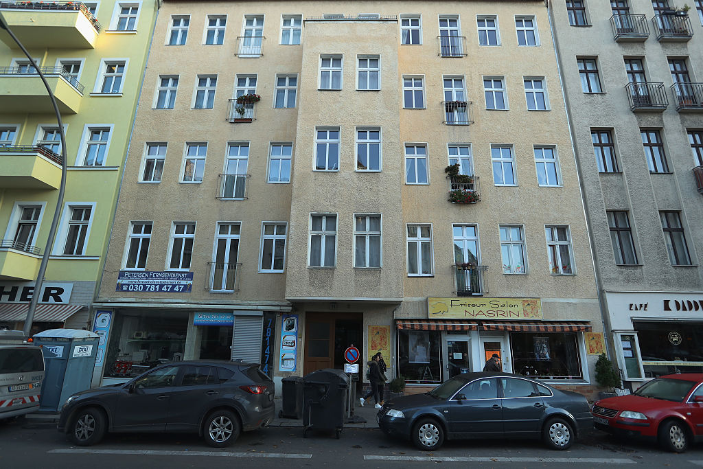 The Berlin apartment building where the