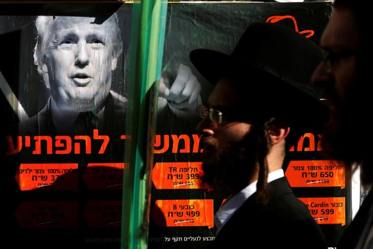 ISRAEL-RELIGION Donald Trump