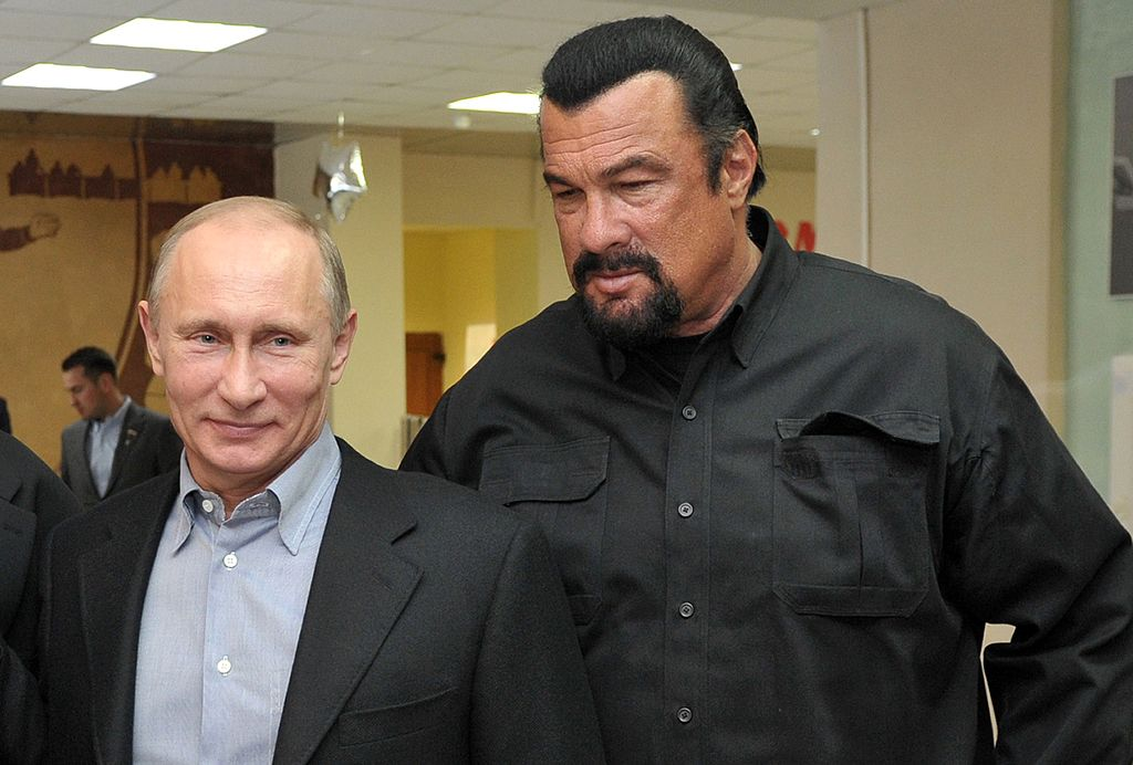 Putin Seagal