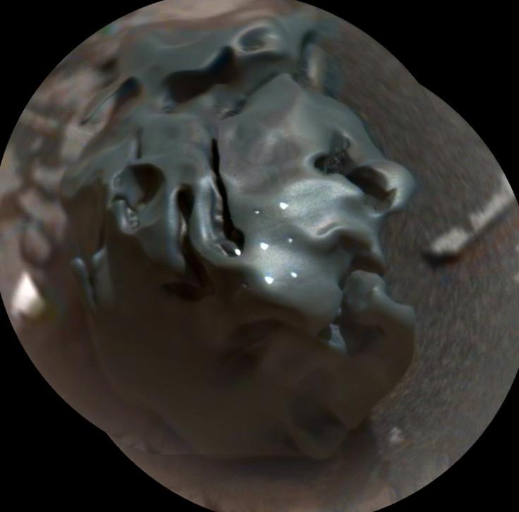 Space rock close up