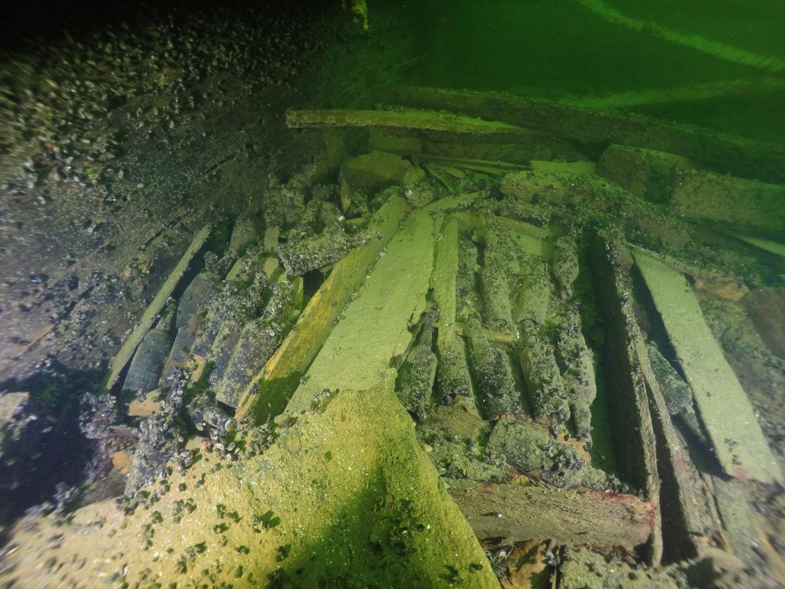 shipwreck Baltic sea