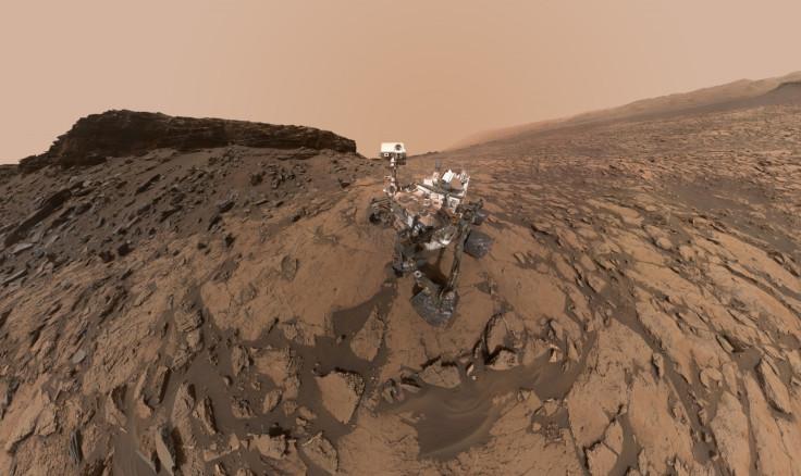 Mars Curiosity rover