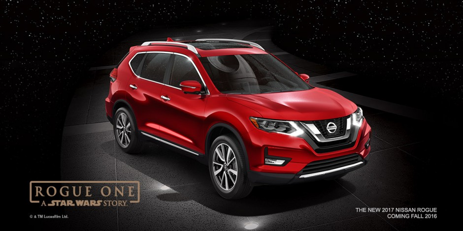 Nissan Rogue: Rogue One Star Wars Edition