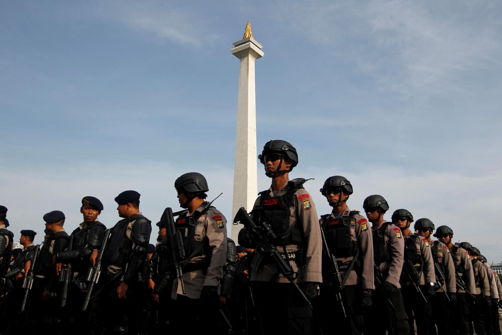 Police Jakarta Indonesia