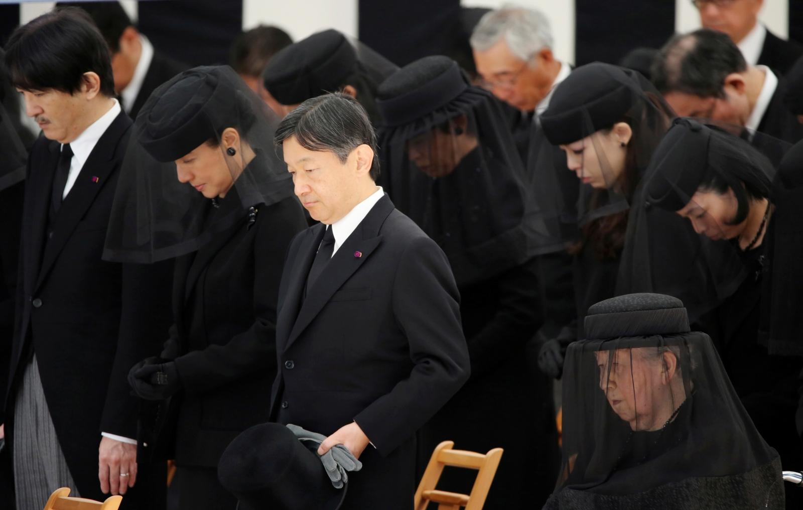 Prince Mikasa funeral