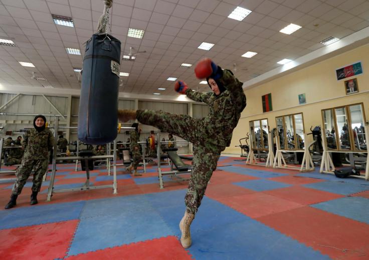 Afghan women soldiers