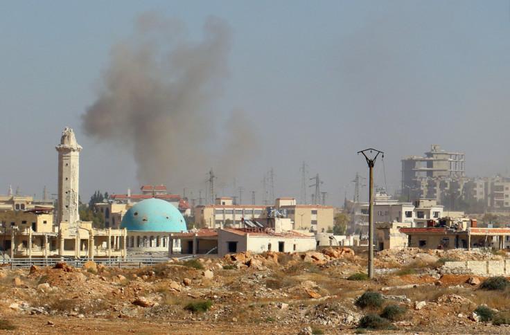 Rebel counteroffensive western Aleppo