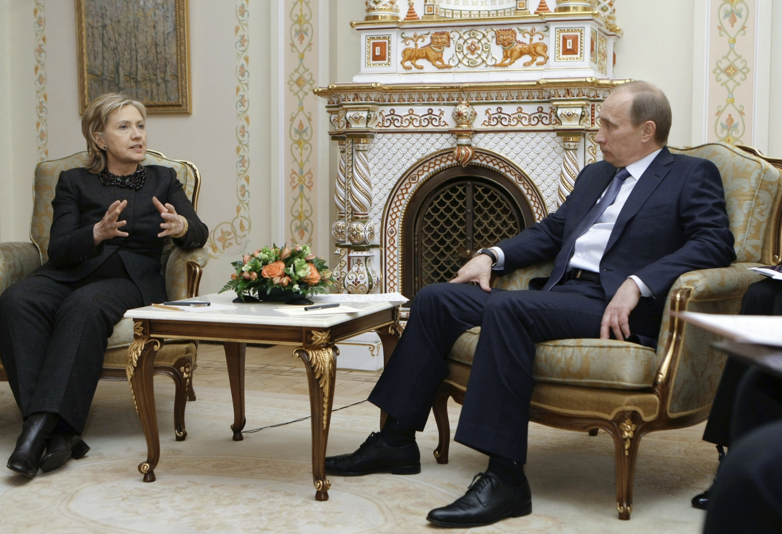Clinton Putin