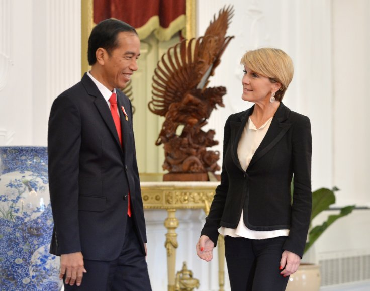 Joko Widodo, Julie Bishop