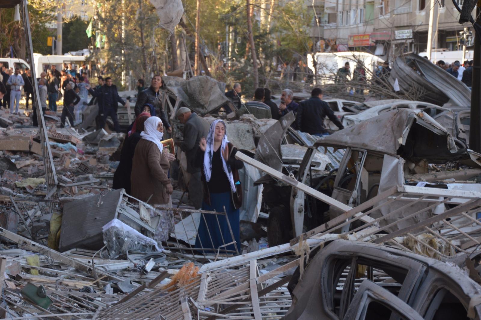 Kurdish militants from PKK killed by Turkish air strikes ...