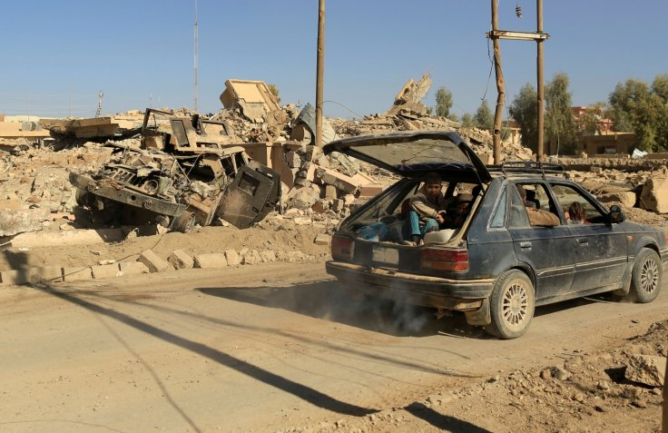 Mosul offensive people fleeing homes