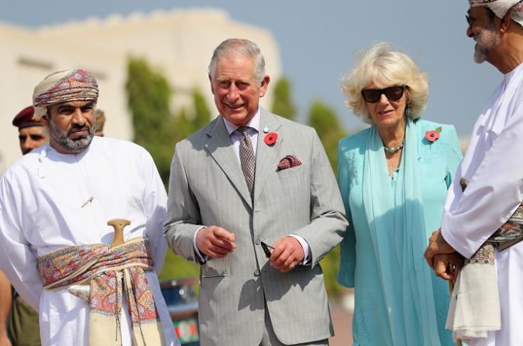 Royal tour in Oman