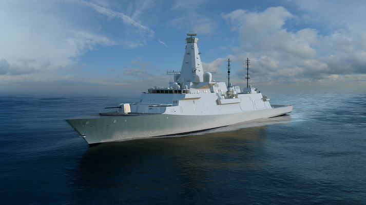 BAE System's state-of-the-art Type 26 warship