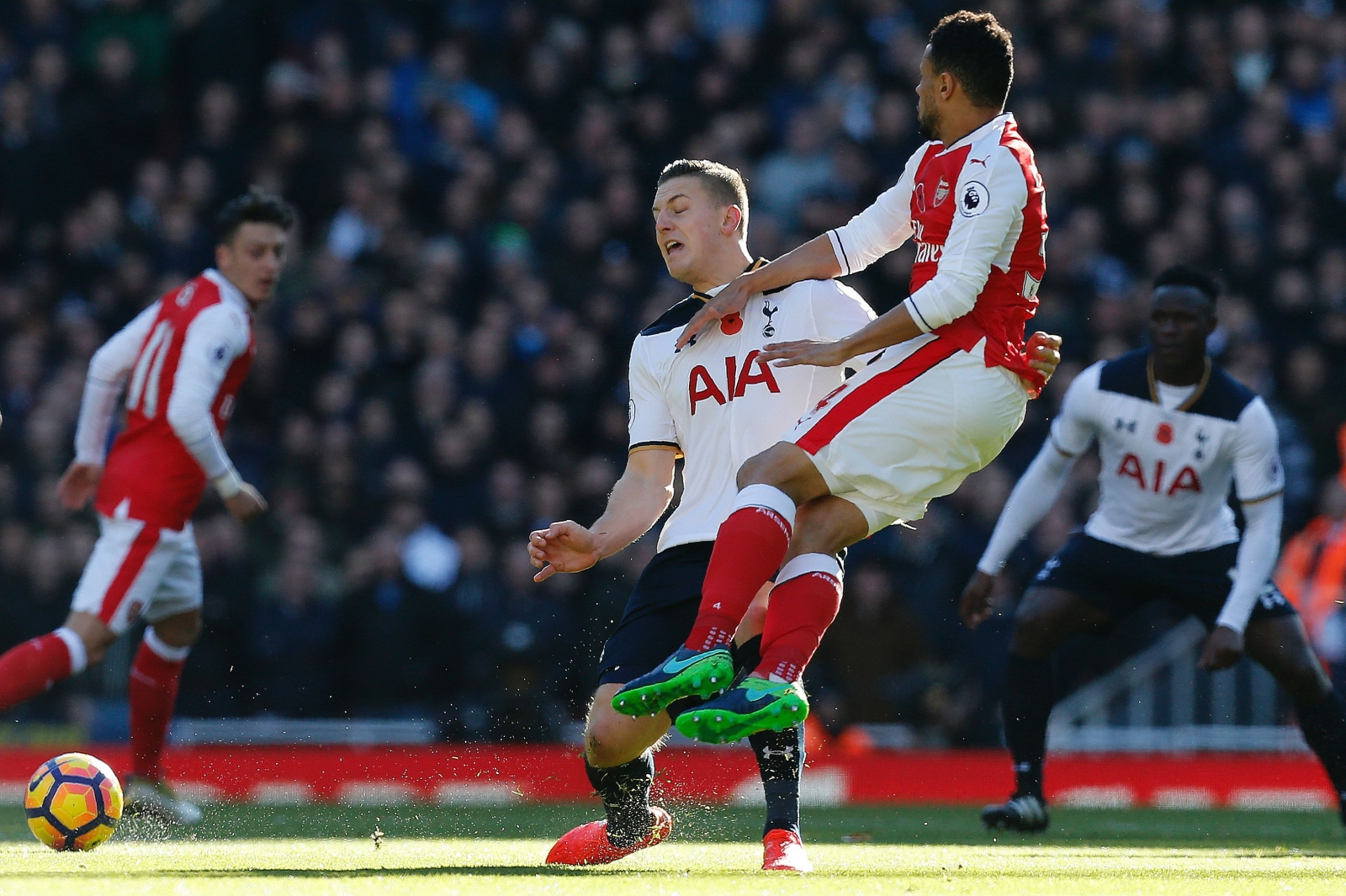 Kevin Wimmer goes into the book