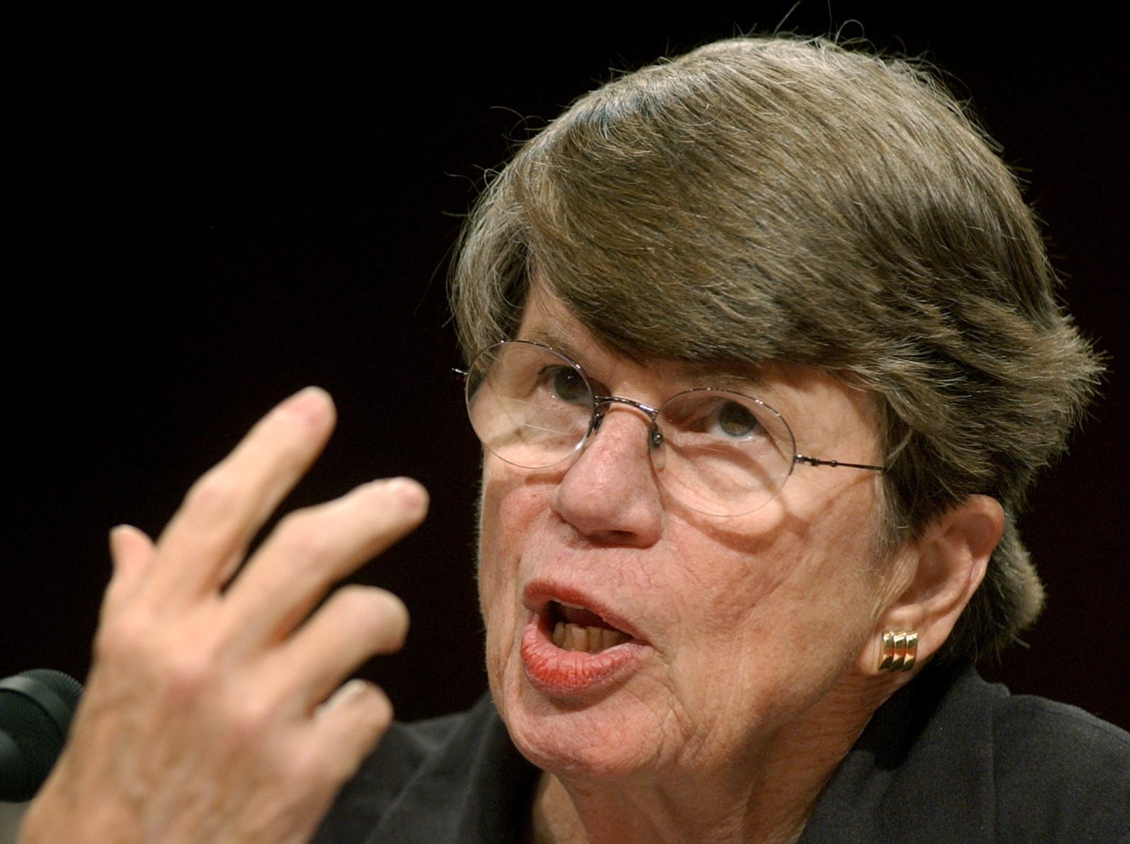 SECURITY COMMISSION Janet Reno