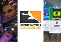Overwatch Sombra League Arcade