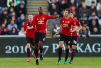 Paul Pogba (left) and Michael Carrick