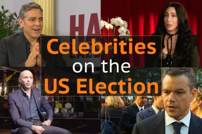 Celebrities on the US Election