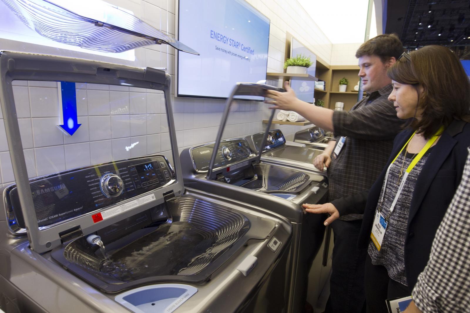 Samsung exploding washing machines recall check