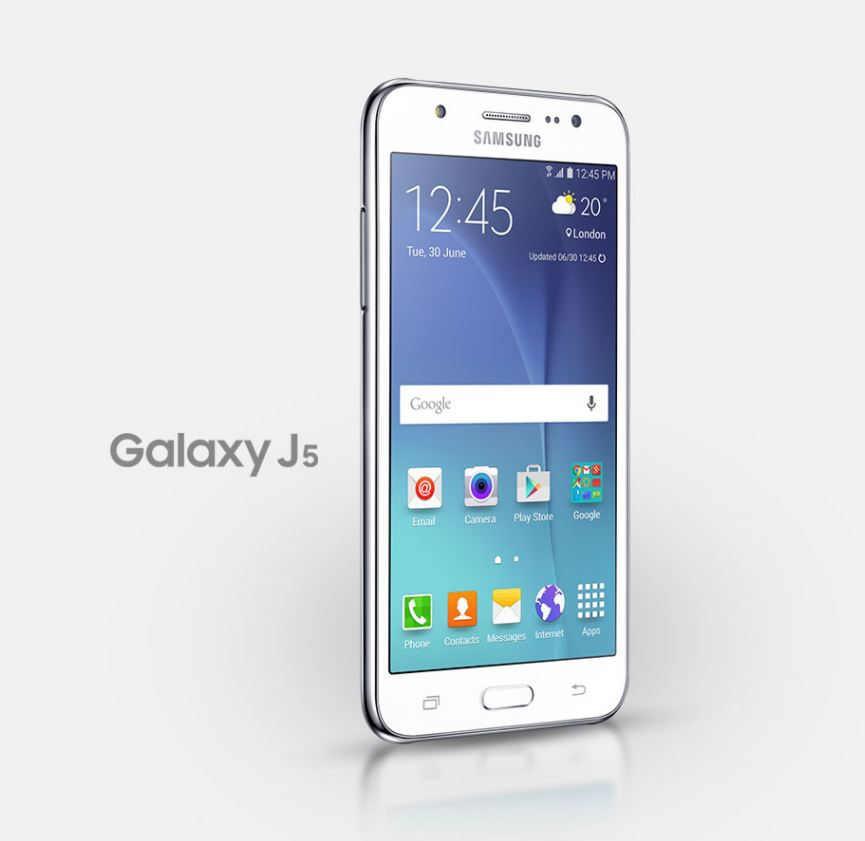 Galaxy J5 explodes in France