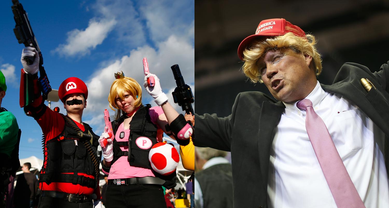 Video Game Trump Cosplay