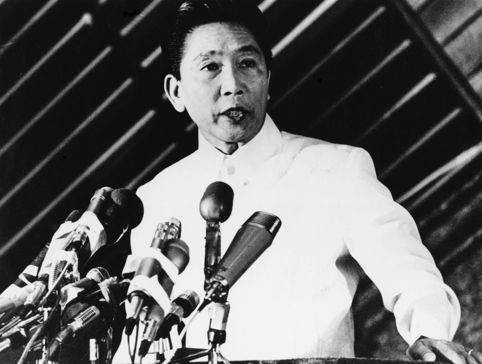 President Ferdinand E. Marcos