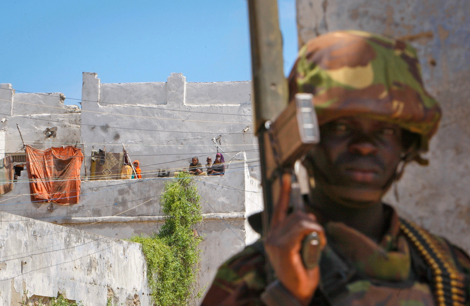Kenyan army in Somalia